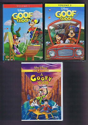 3 PC LOT: DISNEY Goof Troop Complete Series 1 + 2 and A ...