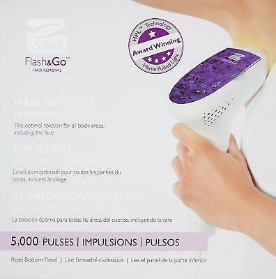 Silk'n Flash&Go - At Home Permanent Hair Removal Device for Women and Men - 5k