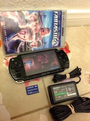 Sony PSP 2000 Launch Edition Piano Black Handheld System