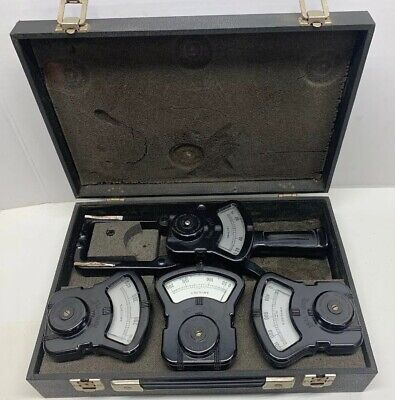 Vintage Columbia Electric Tong Test Ammeter 75A,200A,400A,1000A  Amperes Meter