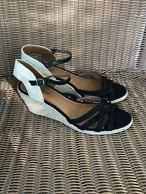 a2cf5107f33 NEW IN BOX Tommy Hilfiger Yavino Espadrille Wedge Sandals Ankle ...