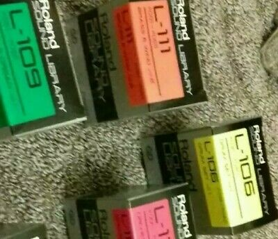 Roland S10 S220 QD Quick Disk blanks / sample sets. 4 x boxes of 10 NEW