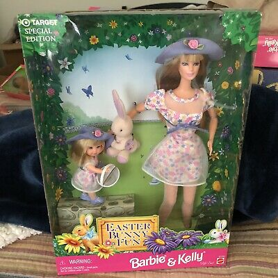 Barbie Doll and Kelly Easter Bunny Fun Special Edition 1998