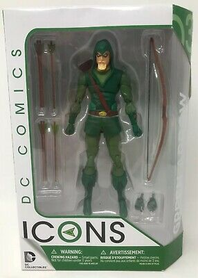 """THE GREEN ARROW DC Comics Icons DC Collectibles 6"""" Action Figure Longbow Hunter"""