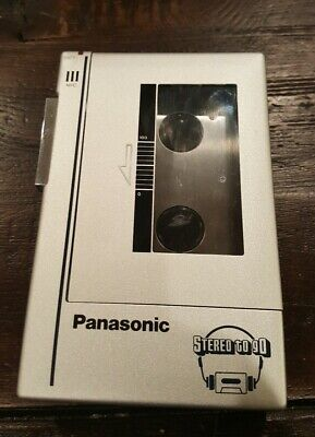 Vintage PANASONIC STEREO CASSETTE PLAYER RQ-J9 - Works Great