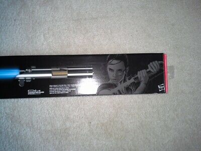 Star Wars Black Series Rey (Jedi Training) Force FX Lightsaber NEW