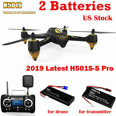 Hubsan X4 H501S S Pro Drone 5.8G FPV Brushless Quadcopter 1080P GPS RTH RTF REF