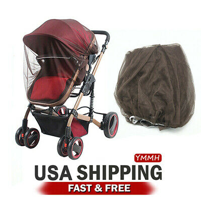 Baby Mosquito Net for Stroller Car Seat Infant Bug Insect Protection Cover-2PCS
