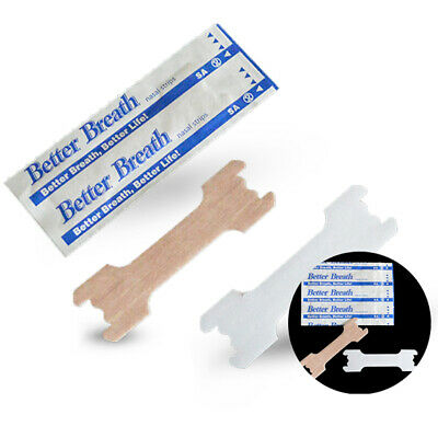 50 Pcs Breathe Right Better Nasal Strips Adult Stop Snoring Health Care Strip A