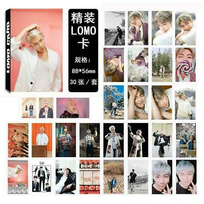 Kpop BTS RM Map of The Soul Paper Lomo Photo Card New Album Photocard Poster