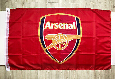 Arsenal 3X5FT Flag Banner England Soccer Football Club Red 2Grommets/397