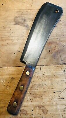 Collectable Antique Vintage Butchers Cleaver Knife Axe Ox Head Germany