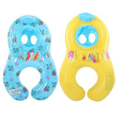 Mother and Baby Inflatable Swim Rings Safe Sit Inflatable Floats Swimming Toys