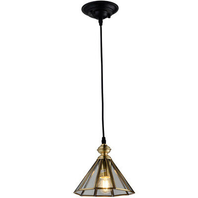 NEW Brass Vintage Style Glass Pendant Light - IndustrialDesign,Ceiling Fixtures