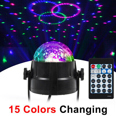Party Light Stage Light Strobe LED DJ Ball Sound Activated Bulb Dance Lamp