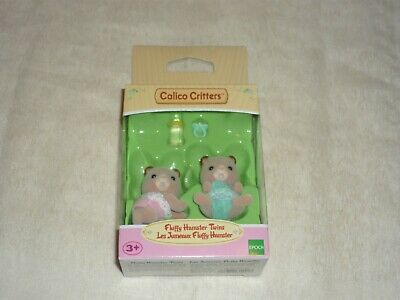 Epoch Calico Critters Fluffy Hamster Twins Misp