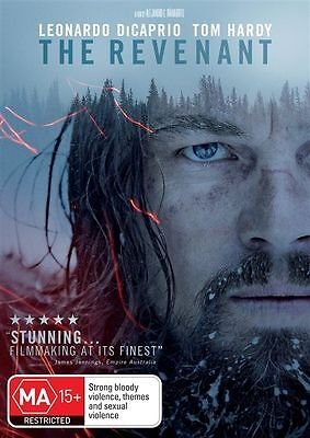 The Revenant  DVD (2016) R4 PAL Leonardo DiCaprio