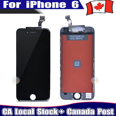 "For iPhone 6 4.7"" Black LCD Touch Display Assembly Digitizer Screen Replacement"
