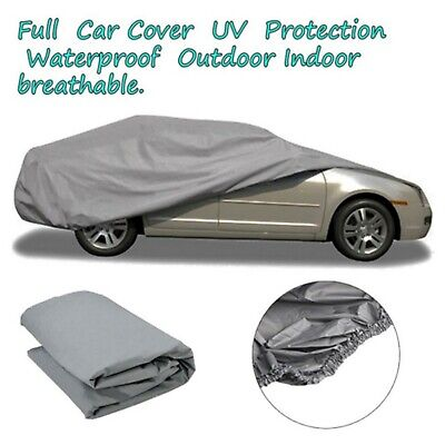 Waterproof Dustproof Outer Membrane Full Car Cover UVResistant Fabric Breathable