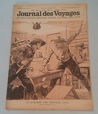Journal Des Voyages (Spiral Bound No 4 Jeudi 21 March 1946
