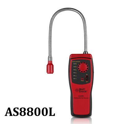 Combustible Gas Leak Detector Analyzer Meter Tester Flammable Natural Gas Leak