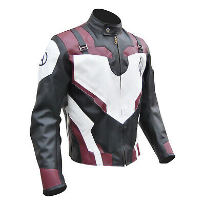 Avengers 4 Endgame Quantum Realm Leather Jacket With Free Shipping