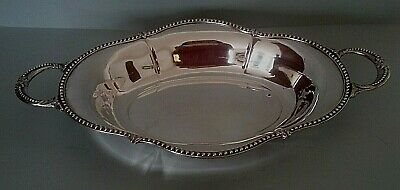 Very Nice Bread Basket Silver Metal Early 20th