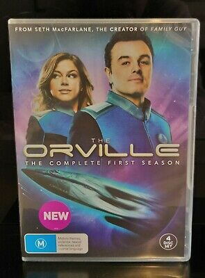 The Orville, The Complete First Season, Region 4