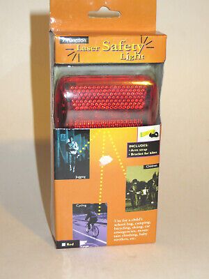 Bicycle / Jogging / Walking Safety Light Cycling Mount, Belt Clip, Arm Strap NEW