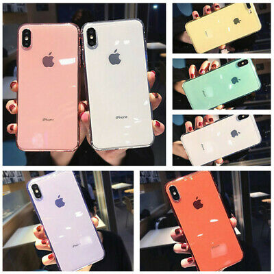 For iPhone XS Max XR 8 7 Plus Ultra Slim Shockproof Clear Rubber Soft Case Cover