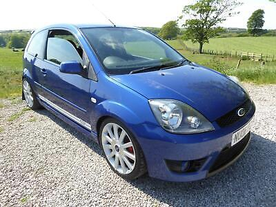 2006 06 Plate Lovely Clean Blue Ford Fiesta 2.0 ST , Very well looked after !!