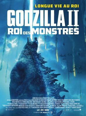 Godzilla II Roi des Monstres (Déf) - Affiche cinema 40X60 - 120x160 Movie Poster