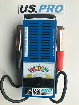 US PRO Tools 6v - 12v Volt 100 AMP Battery Tester, Load Testing NEW 7015