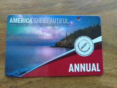 America The Beautiful, U.S. Annual National Parks Pass - Expires on April 2020