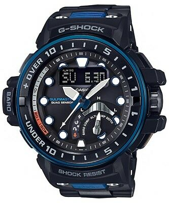 G-Shock Gulfmaster Navy Blue With Resin Composite Band - Gwn-Q1000Mc-1A2
