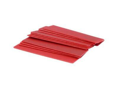 6mm x 28mm x 100mm Rouge Plat Caissette - pack de 1000(s) of 1 - Loose FA334L