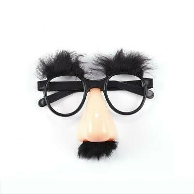 Funny Fake Nose Mustache Clown Fancy Dress up Costume Props Party Favor Glasses