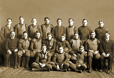 "1905 University of Michigan Football Team Vintage Old Photo 13"" x 19"" Reprint"