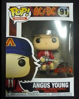 AC/DC - Pop! Rocks - Angus Young Red Jacket exclusive - Funko