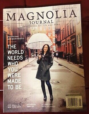 The Magnolia Journal #10 Joanna Gaines, Interiors, Living Crafts Projects Style