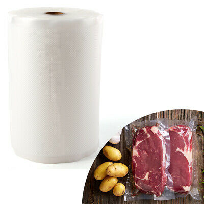 20CM x 30M Rolls Vacuum Sealer Bags Reusable Storage Bag Food Saver