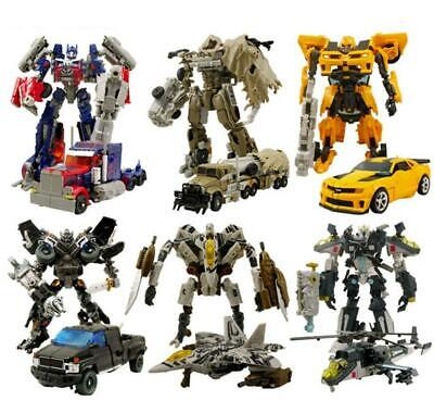 18cm Transformer Action Figures Kid Toy Optimus Prime Ironhide Bumble Bee Robots