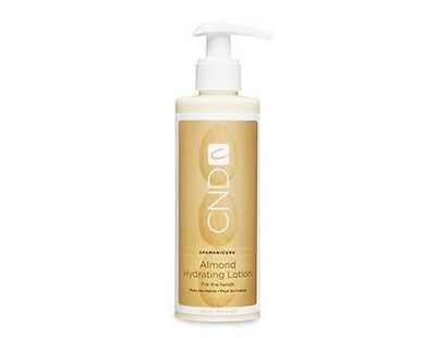 CND SpaManicure ALMOND HYDRATING LOTION for the Hands 236ml or 975ml Brand NEW