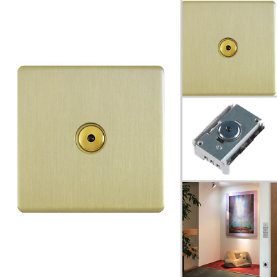 hommage metal line - SenseTouch R Dimmer gold brushed