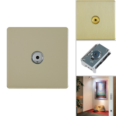 hommage metal line - SenseTouch R Dimmer champagne satin