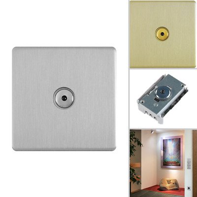 hommage metal line - SenseTouch R Dimmer silver brushed