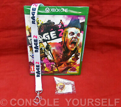 Rage 2 - Includes Layard + Trolley Token- New Sealed - Xbox One - Pal Uk