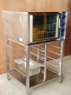 HACKMAN METOS CHEF 24 CONVECTION OVEN and Gastronome Stand.