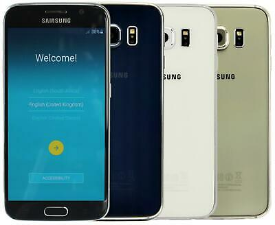 """Samsung Galaxy S6 Unlocked 4G 32GB 5.1"""" Android Smartphone All Colours"""