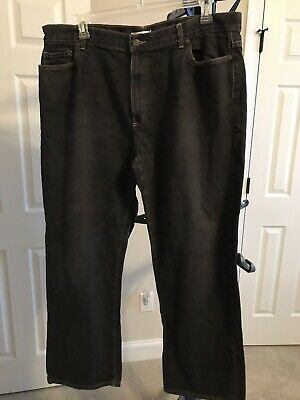 Geoffrey Beene Jeans Black Tag At Size 42X 32 Nice jeans with lots of wear left